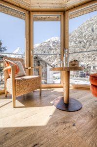 Deluxe Doppelzimmer mit Matterhornblick