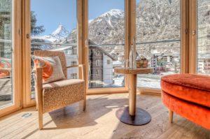 Deluxe Doppelzimmer Hotels Zermatt