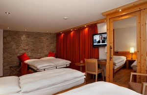Dreibettzimmer Hotel Phoenix Zermatt