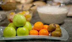 Frische Früchte beim Frühstück Hotel Phoenix Zermatt
