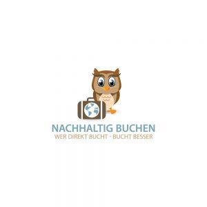 logo nachhaltig buchen