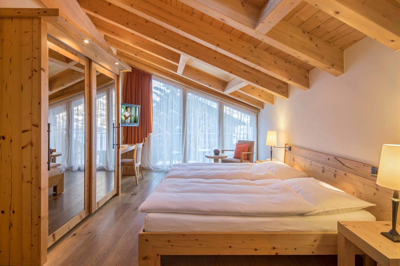 Dachzimmer im Hotel