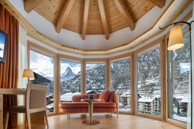 Deluxe Doppelzimmer Hotel in Zermatt