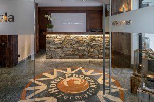 Rezeption in Stein im Hotel