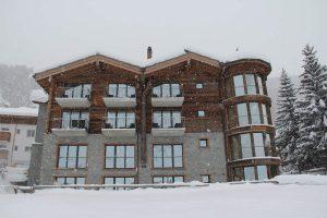 Hotel Phoenix Zermatt im Schnee
